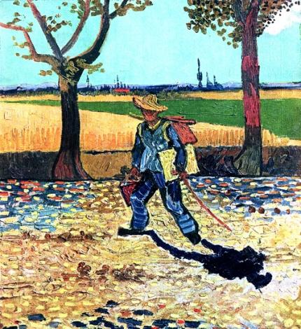 Self Portrait On The Road To Tarascon (The Painter On His Way To Work)
