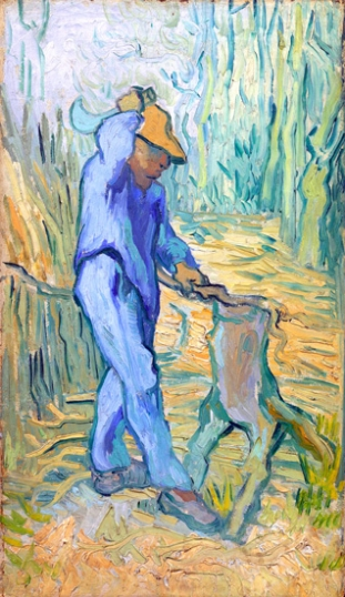 The Woodcutter (After Millet)