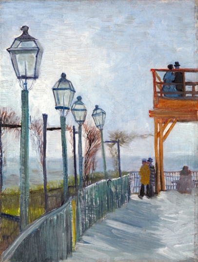 Terrace And Observation Deck At The Moulin De Blute-Fin, Montmartre