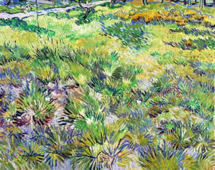 Long Grass With Butterflies 1890