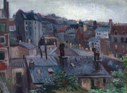 View From Vincent's Studio