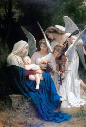 The Virgin of the angels 1881