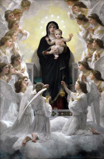 La Vierge aux anges 1900