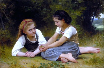 The Nut Gatherers 1882