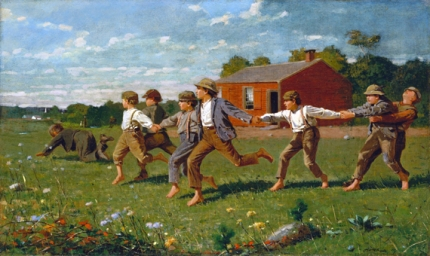 Snap the Whip 1872