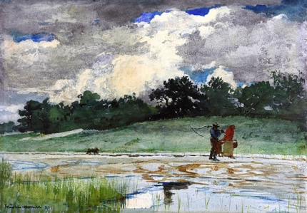 After the Rain, Prouts Neck, 1887