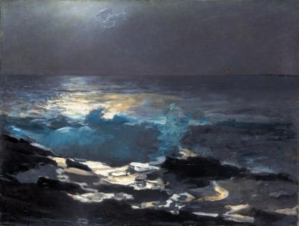 Moonlight, Wood Island Light 1894