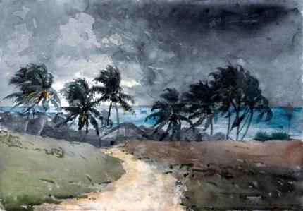 Storm Bahamas 1885