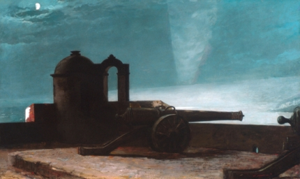 Searchlight on Harbor Entrance, Santiago de Cuba 1901