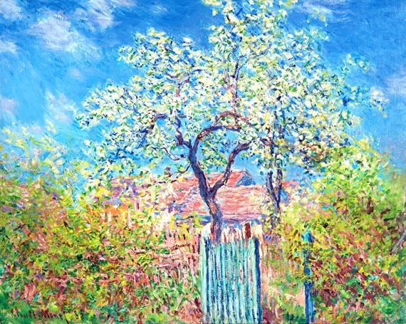 Flowering Pear Tree, 1885 by Claude Monet