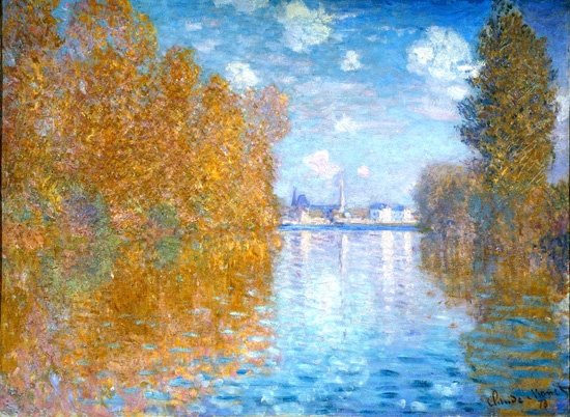 Autumn Effect at Argenteuil, 1873 by Claude Monet