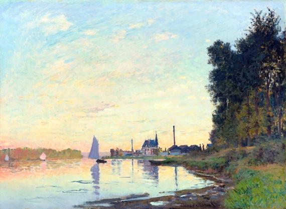 Argenteuil, Fin D'après-Midi 1872 by Claude Monet