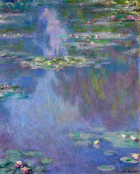 Nymphéas 1907 by Claude Monet