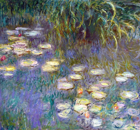 Water Lilies, 1920-26 by Claude Monet