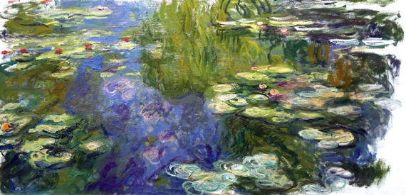 Water Lilies, 1917-19 by Claude Monet