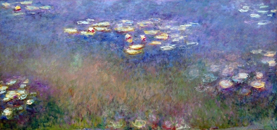 Water Lilies, 1916-19 by Claude Monet