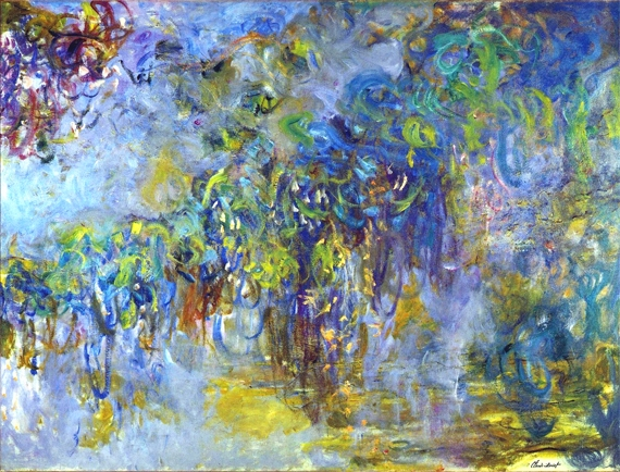 Wisteria, 1919 by Claude Monet