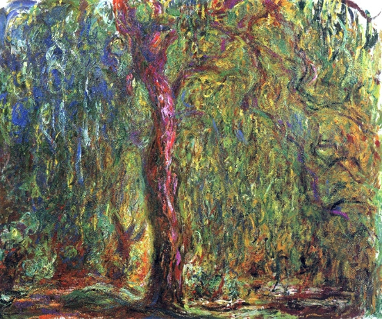 Weeping Willow, 1918-19 by Claude Monet