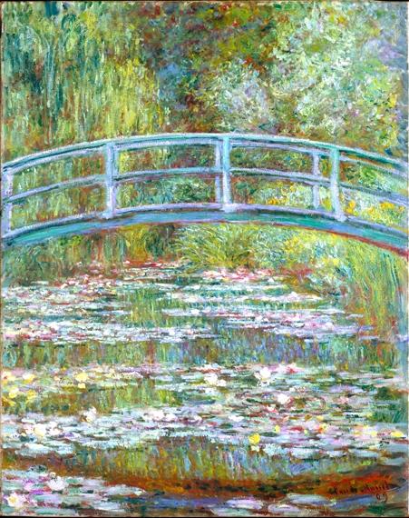 The Japanese Bridge, 1899 by Claude Monet