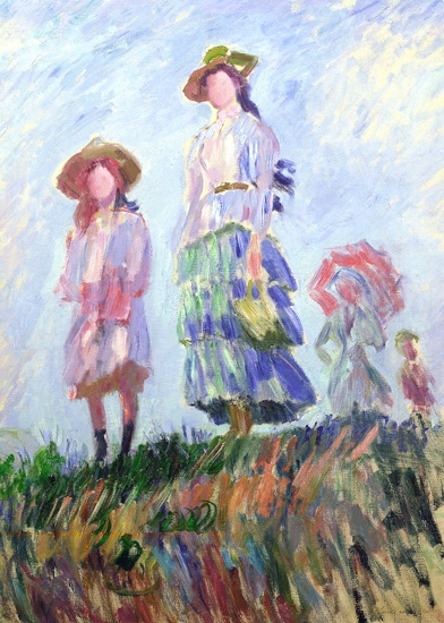 The Promenade (study), 1886 by Claude Monet