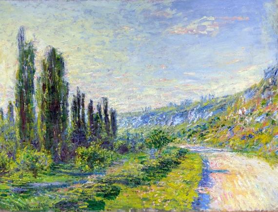 La Route De Vétheuil by Claude Monet