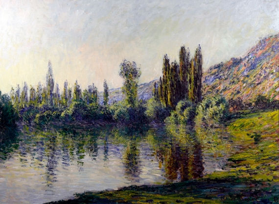 La Seine à Vétheuil by Claude Monet