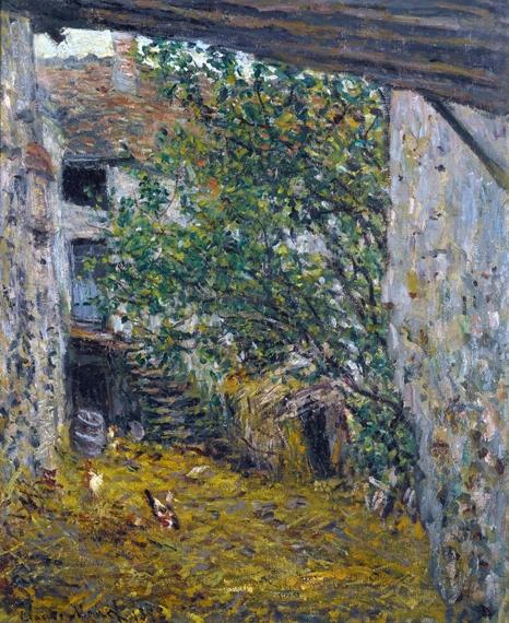 Cour De Ferme by Claude Monet