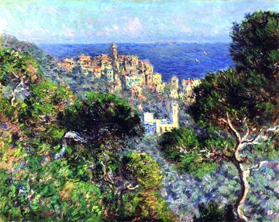 View of Bordighera 1884 by Claude Monet