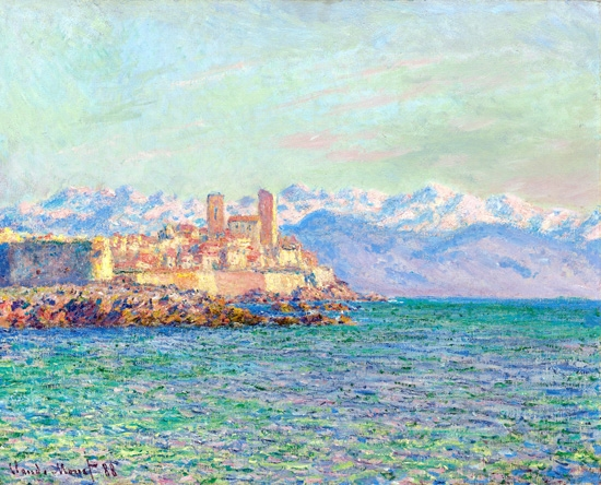 Antibes, Le Fort by Claude Monet