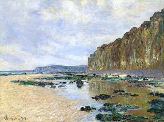 Low Tide at Varengeville (1882) by Claude Monet