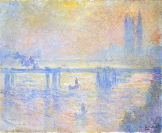 Charing Cross Bridge, 1902 by Claude Monet