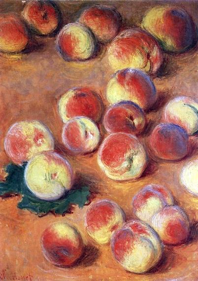 Peaches, 1883 by Claude Monet