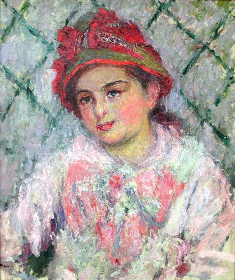 Blanche Hoschede, 1880 by Claude Monet