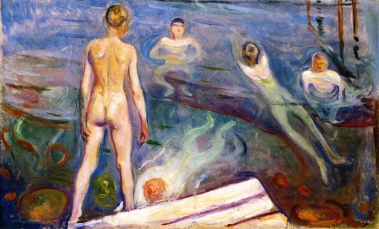 Bathing Boys by Edvard Munch