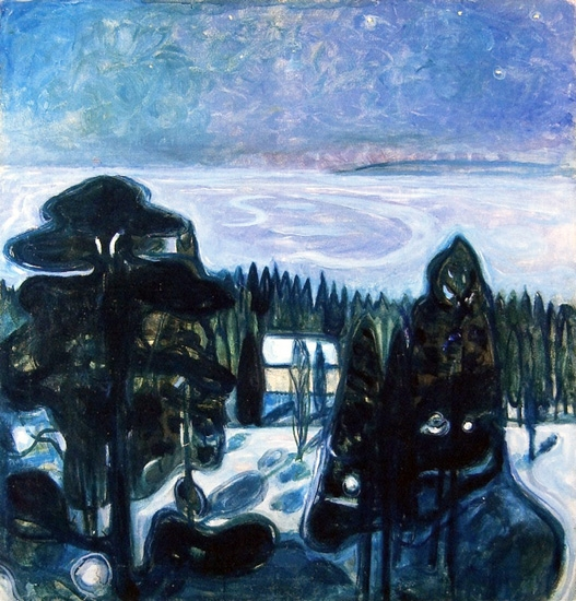 White Night by Edvard Munch