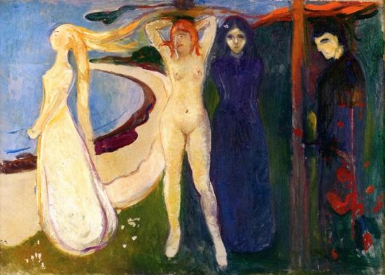 Woman, Sphinx by Edvard Munch
