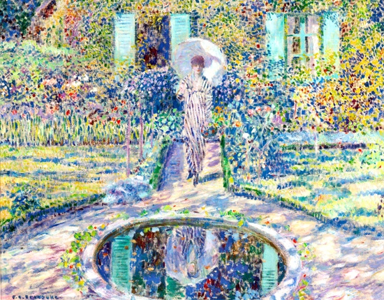 The Garden by Frederick Carl Frieseke