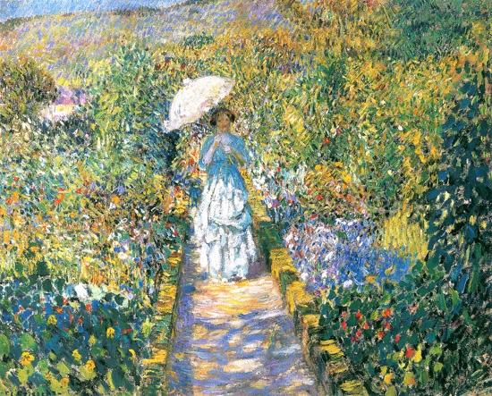 The Garden Path by Frederick Carl Frieseke