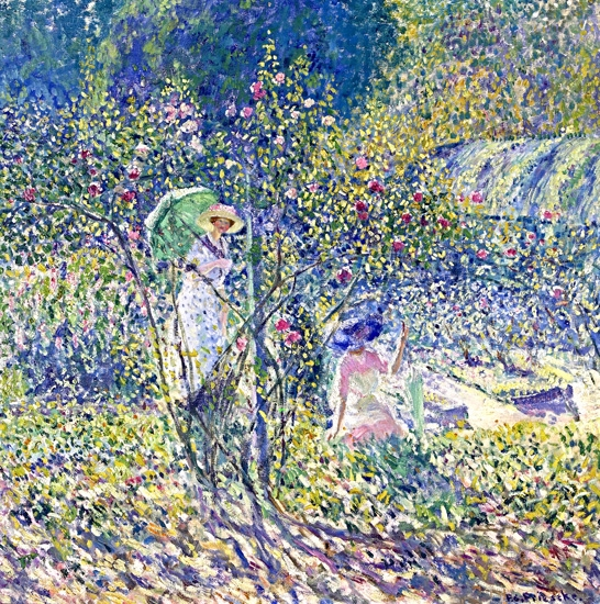 Rose Garden by フレデリック・カール・フリージキー
