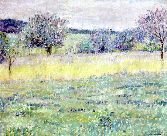 Giverny Landscape by Frederick Carl Frieseke