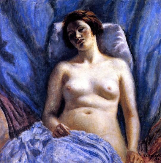 Nude by Frederick Carl Frieseke