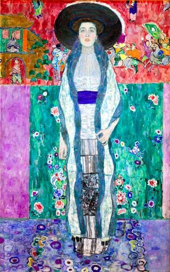 Portrait-of-Adele-Bloch-Bauer-II by Gustav Klimt