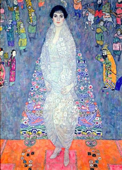 Portrait of Baroness Elisabeth Bachofen by Gustav Klimt