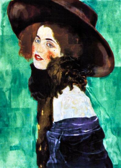 Portrait of a Lady Original by Gustav Klimt