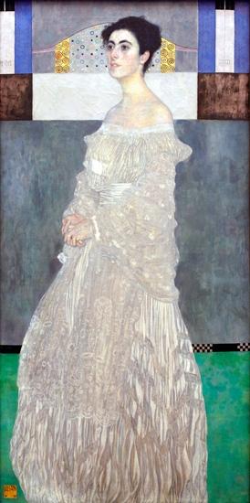 Margaret Stonborough Wittgenstein by Gustav Klimt