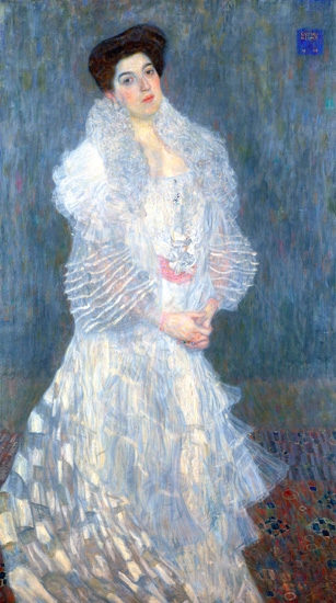 Portrait of Hermine Gallia (1904) by Gustav Klimt