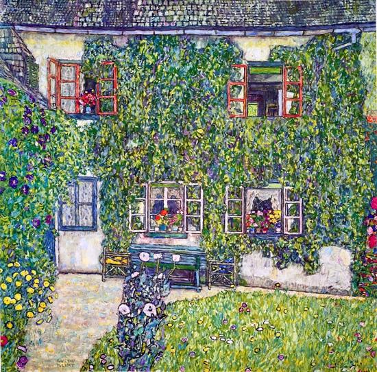 The House of Guardaboschi by Gustav Klimt