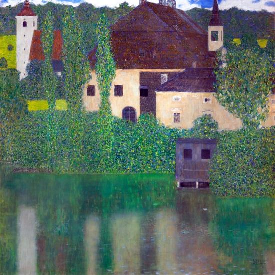 Water Castle (Kammer Chateau Near Attersee I) 1908 by Gustav Klimt