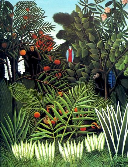 Exotic Landscape by Henri Rousseau