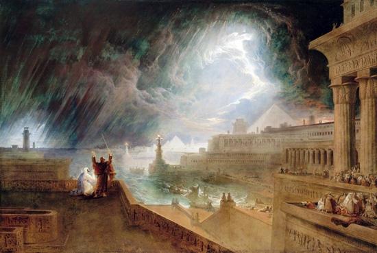 The Seventh Plague by John Martin